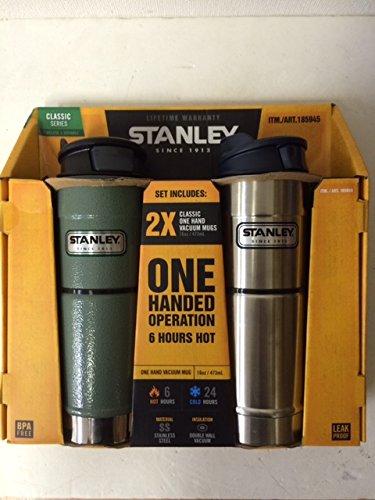 スタンレー Classic Vacuum Bottle ワンハンド真空マグ2本セット