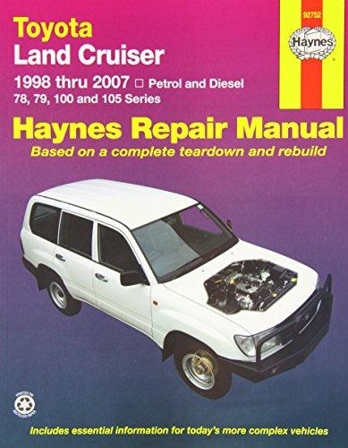 Toyota Landcruiser Repair Manual: 2005-2007. (Haynes Service and Repair Manuals) (Toyota Landcruiser Repair Manual compare prices)