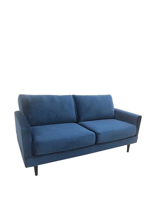 """Grande a due posti divano blu """"Cos"""""""