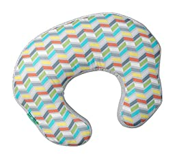 Comfort & Harmony Momo Nursing Pillow, Cheerful Chevron