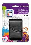 Fujifilm Z70 Premium Digital Camera Case and 2GB SD Card - Black