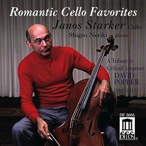 Pièces Romantiques Favorites Pour Violoncelle