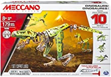 Comprar Meccano - 6033323 - Juego de construcción - Dinosaurios 10 modelos