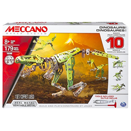 Meccano-6033323-Jeu-de-Construction-Dinosaures-10-Modles