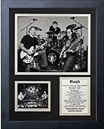 Legends Never Die Rush Framed Photo Collage, 11x14-Inch