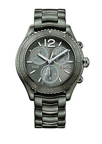 Ebel Mens Ebel X-1 Chronograph PVD Steel watch 1216121