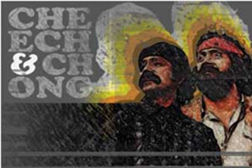 Licenses Products Cheech and Chong High Noon Sticker - 1