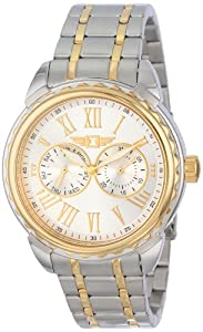 I By Invicta Men's 89052-002 Two-Tone Stainless Steel Silver Dial Watch