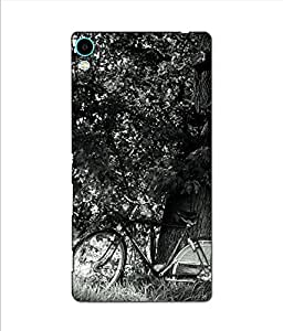 Crazymonk Premium Digital Printed 3D Back Cover For Sony Xprria C6
