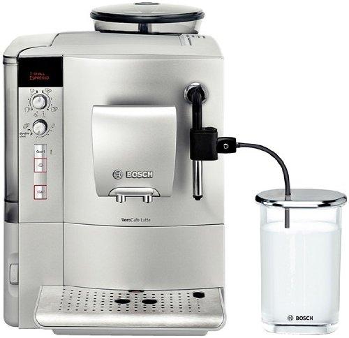Bosch TES503M1DE Kaffee-Vollautomat VeroCafe Latte (1.7 l, 15 bar, externes Milchsystem) silber thumbnail