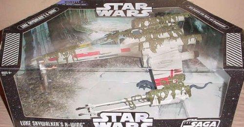 Star Wars X-Wing Fighter Vehicle with Luke Skywalker Figure from Hasbro
