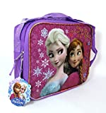 Disney Frozen Princess Elsa & Anna Sister Love Lunch Box Bag Kit