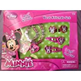 Disney Minnie Best Friensds Bracelets, Rings And Snap Clips