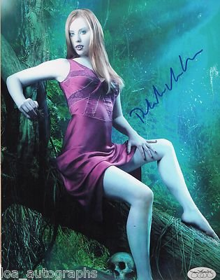 Deborah Ann Woll hand SIGNED True Blood photo JSA SOA Jessica Hamby