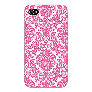 Jugaaduu Pretty Pink Back Cover Case For Apple iPhone 4