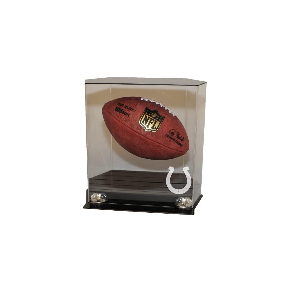 Indianapolis Colts Floating Football Display Case