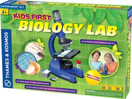 Thames And Kosmos Kids First Biology Lab Science Kit