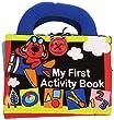 Ks Kids Stoff Activity Buch Bilderbuch mit 3 Stufen f�r Kleinkinder von 1 - 4 Jahre