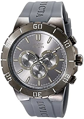 Invicta Men's 19199 Pro Diver Analog Display Japanese Quartz Grey Watch