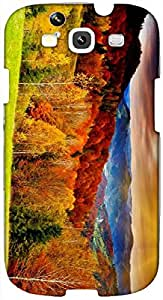 Timpax protective Armor Hard Bumper Back Case Cover. Multicolor printed on 3 Dimensional case with latest & finest graphic design art. Compatible with Samsung S3 - I9300 Galaxy S III Design No : TDZ-25310