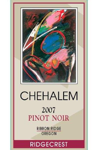 2007 Chehalem Ridgecrest Vineyards Pinot Noir, Ribbon Ridge 750 Ml