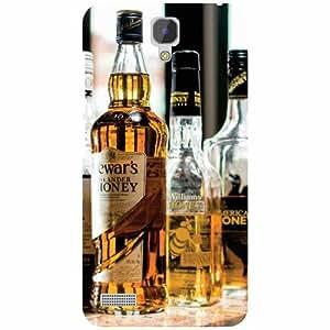 Redmi Note Prime Back cover - Drinks Designer Cases