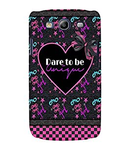 printtech Cool Girl Quote Back Case Cover for Samsung Galaxy S3 Neo / Samsung Galaxy S3 Neo i9300i