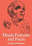 img - for Heads, Features and Faces (Dover Anatomy for Artists) book / textbook / text book