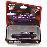 カーズ×スターウォーズ 2014限定コラボミニカー 1PACK ラモーン as ハン・ソロ / Disney PIXAR CARS x STAR WARS MATTEL STAR TOURS スターツアーズ ディズニー ピクサー RAMONE as HAN SOLO