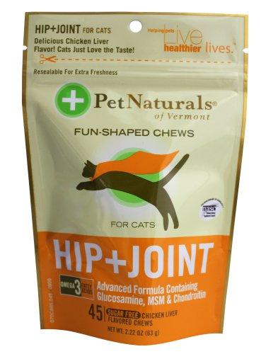 Pet Naturals Hip & Joint pour chats (45 count)