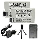 Powermall LP-E8 (2 Pack) 1200mAh Rech...