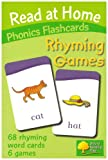 Kate Ruttle Read at Home: Phonics Flashcards - Rhyming Games