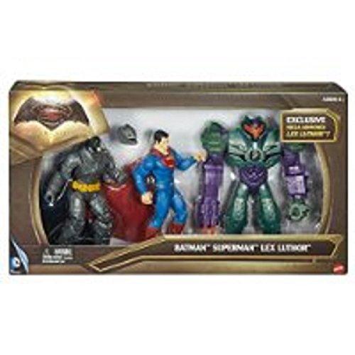 Batman v Superman: Dawn of Justice Lex Luthor Figure 3-Pack at Gotham City Store