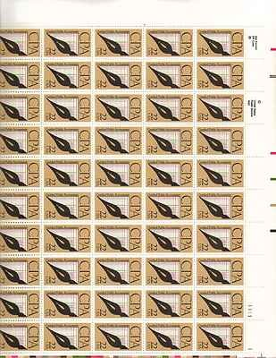CPA Sheet of 50 x 22 Cent US Postage Stamps NEW Scot 2361