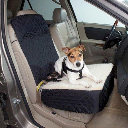 Snoozer Half Bench Lookout Perch Pet Car Seat - Khaki - SN-83001