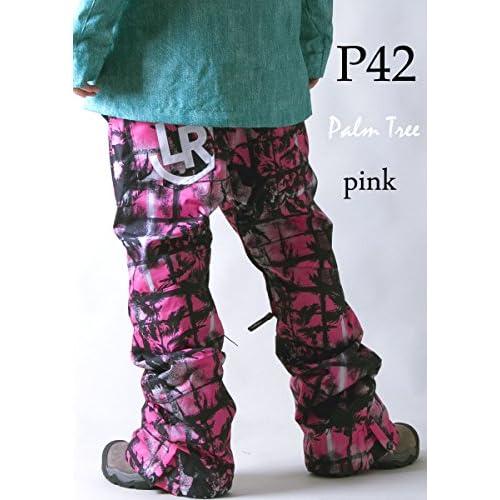 le-Rhythm(リアリズム) (XXS) 14-15ユニセックス メンズ レディース スノーボードウェア パンツ パームツリーピンク P42