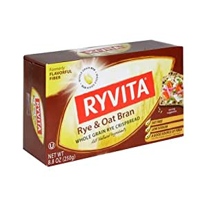 Amazon.com: Ryvita Rye & Oat High Fiber Bran Cracker