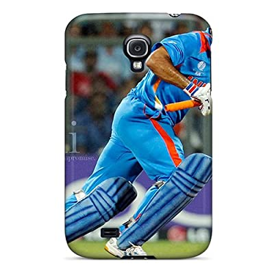 Hot Snap-on Ms Dhoni Hard Cover Case/ Protective Case For Galaxy S4