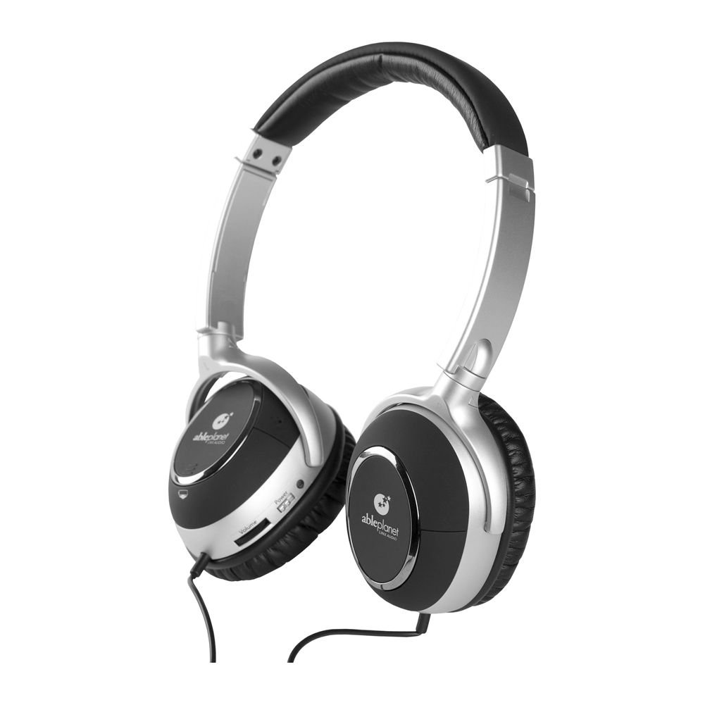 Able Planet NC600 Clear Harmony Noise Canceling Headphones with SRS