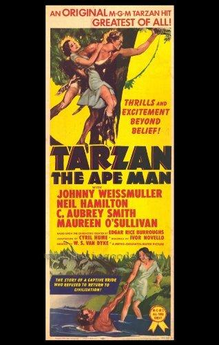 Tarzan the Ape Man POSTER Movie (27 x 40 Inches - 69cm x 102cm) (1954)