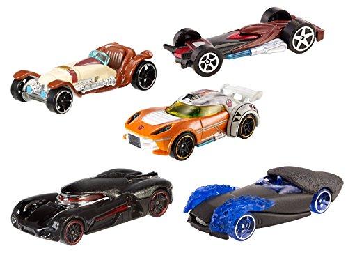 Hot Wheels CKK83 - Star Wars Confezione 5 Veicoli