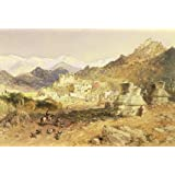 The Palace at Leh, the Capital of Ladakh, by William Simpson (Print On Demand)