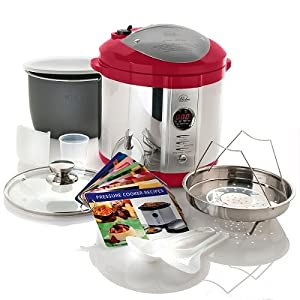 Wolfgang Puck 7qt 4-in-1 Pressure Cooker BPCR0007