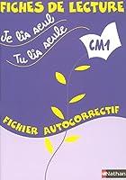 Je lis seul, Tu lis seule CM1
