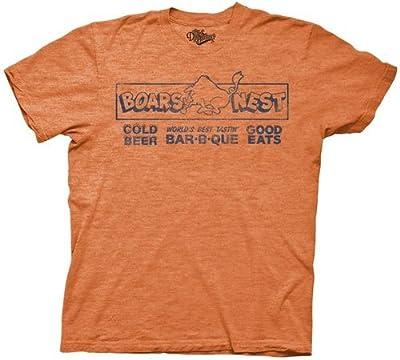 The Dukes of Hazzard Boars Nest Adult Orange T-Shirt