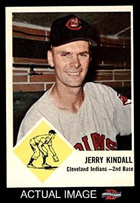 1963 Fleer # 13 Jerry Kindall Cleveland Indians (Baseball Card) Dean's Cards 6 - EX/MT