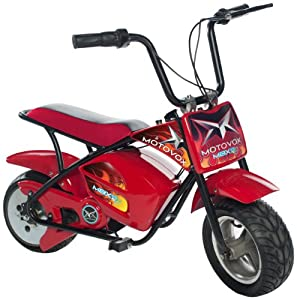 Motovox Electric Mini Bike, Red from MotoVox