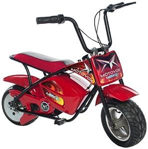 Motovox Electric Mini Bike, Red by Motovox
