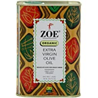 Zoe Organic Extra Virgin Olive Oil (Pack of 2)