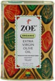 Zoe Organic Extra Virgin Olive Oil, 25.5- Ounce tins (Pack of 2)
